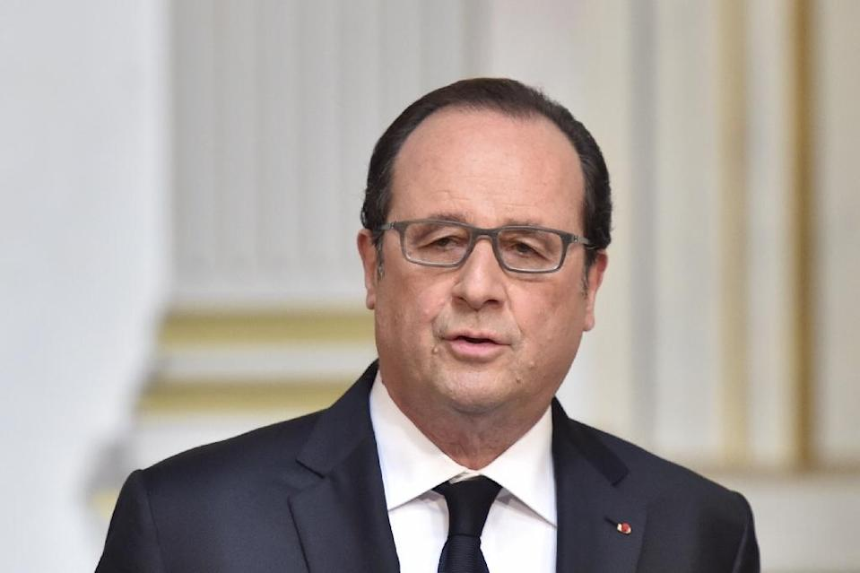 "In addition to his steep salary, Francois Hollande's hairdresser is entitled to a ""housing allowance"" and other ""family benefits"", the French weekly Canard Enchaine reported (AFP Photo/Alain Jocard)"