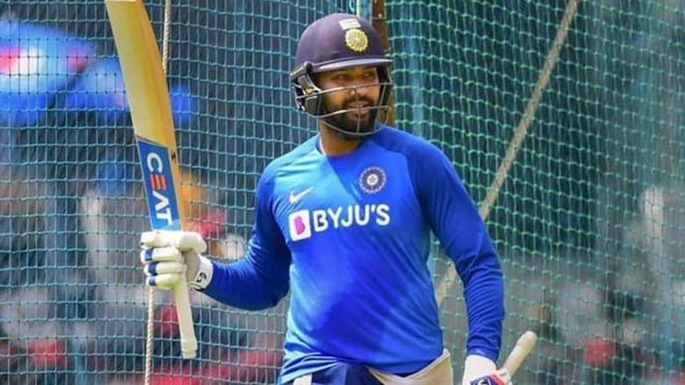 Indian cricketer Rohit Sharma begins fitness training at NCA