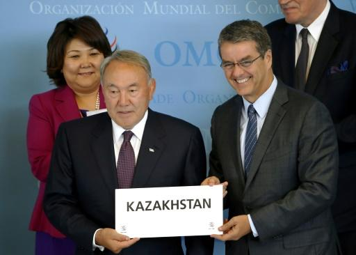 WTO formally accepts Kazakhstan as new member