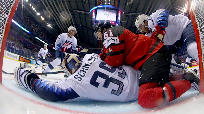 Canada beat USA, who must now face rampant Russia
