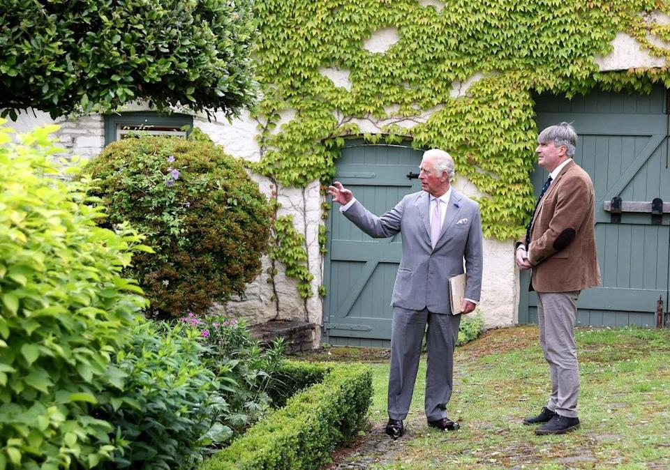 The Prince of Wales (left) with Poet Laureate Simon Armitage (Chris Jackson/PA) (PA Wire)