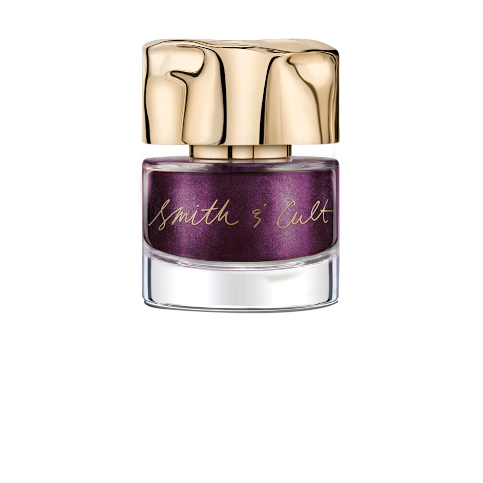 """<p>As the clever names suggests, Smith & Cult's Nail Polish in A Little Underground strikes a fine balance between edgy and every day. The dark plum pigment is swirled with a pearlescent-metallic-y finish that makes it nouveau and bold, but fittingly dark and moody heading into the cooler months of the year.</p> <p><strong>$18</strong> (<a href=""""https://shop-links.co/1683516284546006736"""" rel=""""nofollow noopener"""" target=""""_blank"""" data-ylk=""""slk:Shop Now"""" class=""""link rapid-noclick-resp"""">Shop Now</a>)</p>"""