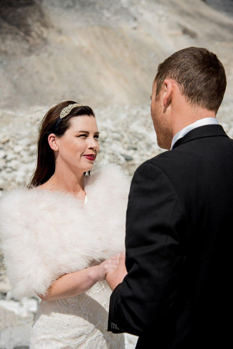 The vows. (Photo: Charleton Churchill/Caters News)