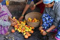 Production is limited to the cashew apple harvesting season from February to May