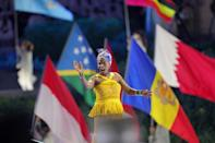 Top international artists performed at the opening ceremony (AFP/Giuseppe CACACE)
