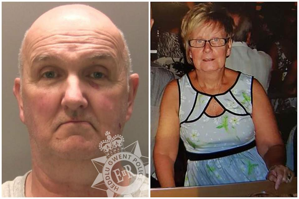 Anthony Williams was found guilty of manslaughter but cleared of murdering his wife Ruth during lockdown. (PA/Gwent Police)