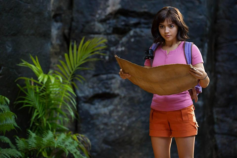 """<p><strong>Paramount+'s Description:</strong> """"Having spent most of her life exploring the jungle, nothing prepared Dora for her most dangerous adventure yet - high school. Along with a group of teens and Boots the monkey.""""</p> <p><a href=""""https://www.paramountplus.com/movies/dora-and-the-lost-city-of-gold/jtTbyEmO_SEVlebfttPARspVeSy7CKZu/"""" class=""""link rapid-noclick-resp"""" rel=""""nofollow noopener"""" target=""""_blank"""" data-ylk=""""slk:Watch Dora and the Lost City of Gold on Paramount+ here!"""">Watch <strong>Dora and the Lost City of Gold</strong> on Paramount+ here!</a></p>"""