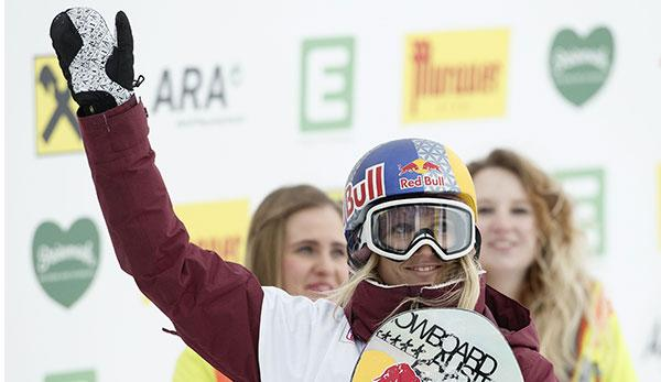 Snowboard: Anna Gasser holt WM-Gold im Big Air