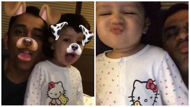 Video: Ziva Dhoni Learning Names of Indian Cities Is Too Adorable