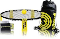 <p>This fast-paced <span>Spikeball Ball Game Set </span> ($56) gets your squad up and moving. And since it can accommodate up to four players, you won't have to worry about taking turns.</p>