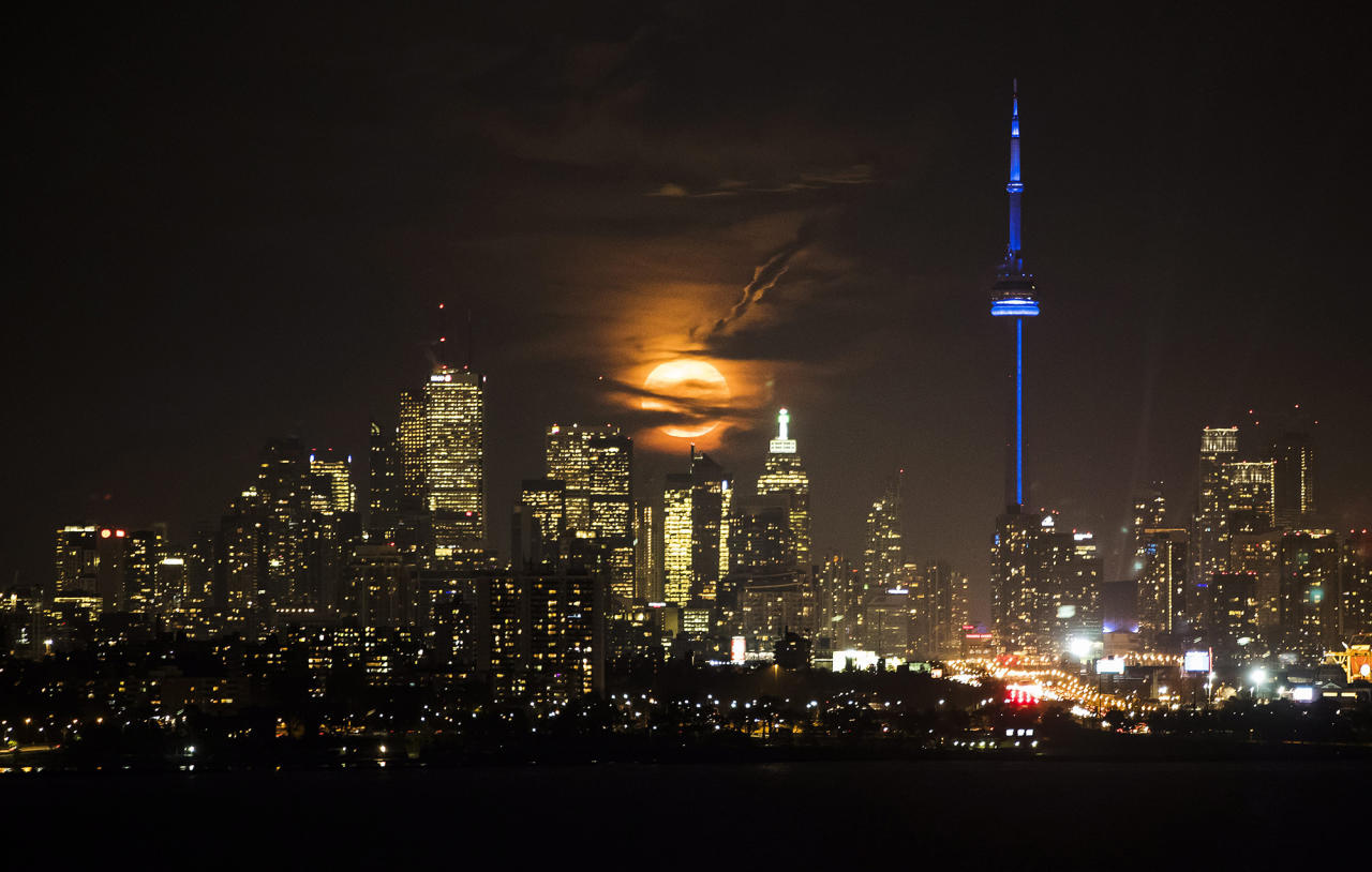 <p>No. 23: Toronto, Canada<br />Cost of a date:$105.70<br />(Mark Blinch/The Canadian Press via AP) </p>