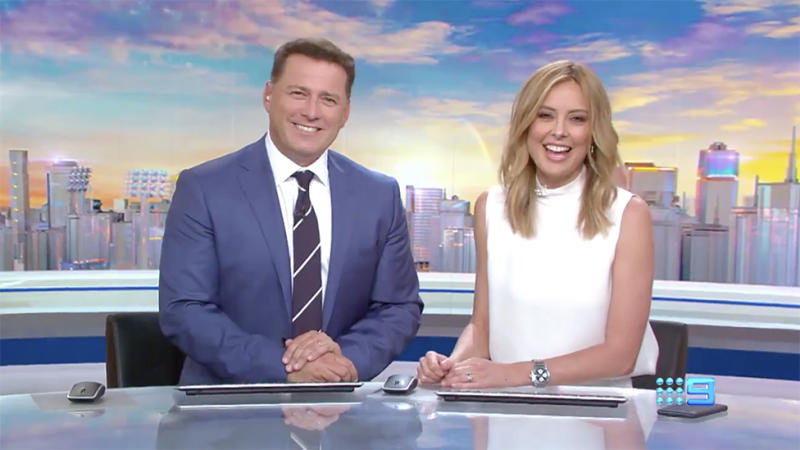 Karl Stefanovic and Allison Langdon will take over the Today