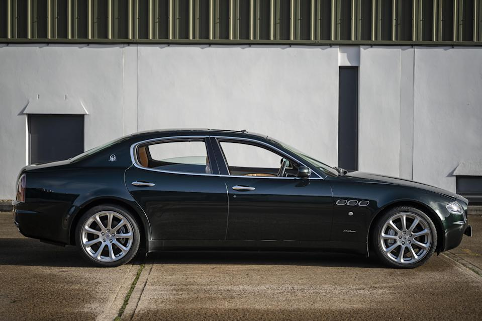 2005 Maserati Quattroporte owned by Sir Elton John