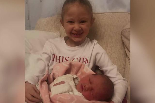 Mother's heartbreaking days spent with daughter's body after she died days after sister's birth
