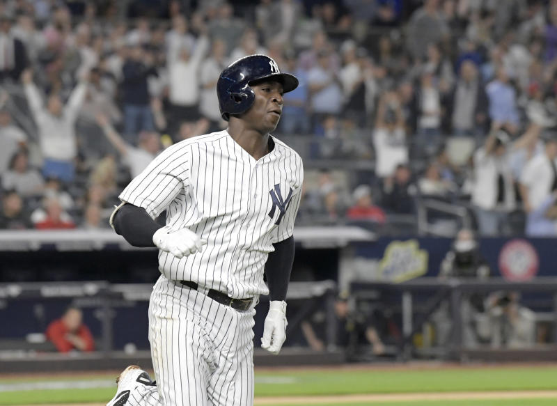 The Yankees' power continues to propel them to victory this season — including the top of our power rankings this week. (AP)