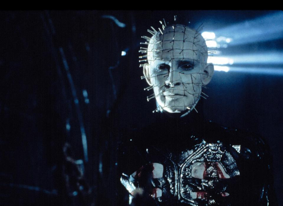"""<div><p>""""The original <i>Hellraiser</i> and <i>II</i> are amazing! The third one is okay, and <i>IV</i> tried something that just didn't work. I give four points for ambition, though. All the rest were scripts for other movies that got bought and had Pinhead added in, which is why they all feel so disconnected.""""</p><p>—<a href=""""https://www.reddit.com/r/AskReddit/comments/o7bmha/what_movie_franchise_shouldve_stopped_at_2/h2y9u78/?context=3&utm_medium=web2x&utm_source=reddit"""" rel=""""nofollow noopener"""" target=""""_blank"""" data-ylk=""""slk:u/Nerdfatha"""" class=""""link rapid-noclick-resp"""">u/Nerdfatha</a></p></div><span> New World Releasing / © New World Releasing / Courtesy Everett Collection</span>"""