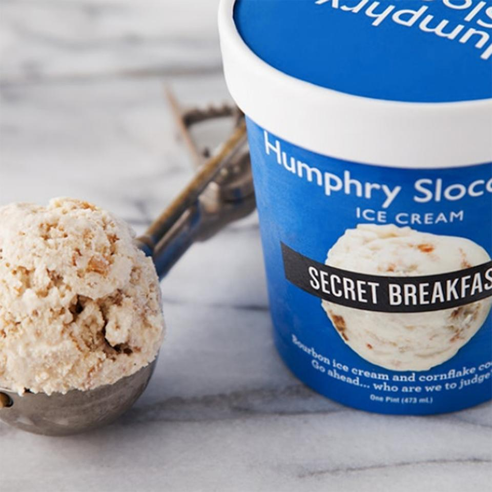 "<p><strong>Humphry Slocombe</strong></p><p>goldbelly.com</p><p><strong>$89.00</strong></p><p><a href=""https://go.redirectingat.com?id=74968X1596630&url=https%3A%2F%2Fwww.goldbelly.com%2Fhumphry-slocombe%2Fthe-best-sellers-6-pints&sref=https%3A%2F%2Fwww.townandcountrymag.com%2Fleisure%2Fdining%2Fg23937264%2Fgourmet-food-gifts%2F"" rel=""nofollow noopener"" target=""_blank"" data-ylk=""slk:Shop Now"" class=""link rapid-noclick-resp"">Shop Now</a></p><p>If you're looking to gift a sweet treat, look no further than this curated set of pints from San Fransisco's famed Humphry Slocombe. The pints include six fan favorites like their Blue Bottle Vietnamese Coffee (a blend of Blue Bottle organic coffee, sweetened condensed milk, and chicory), Malted Milk Chocolate, Salted Caramel Cocoa Nib, and perennial favorite Secret Breakfast (bourbon ice cream studded with cornflake cookies). </p>"