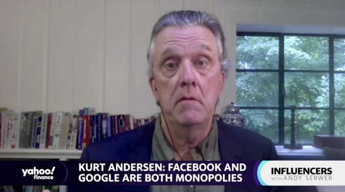 """Author and journalist Kurt Andersen appears on """"Influencers with Andy Serwer."""""""