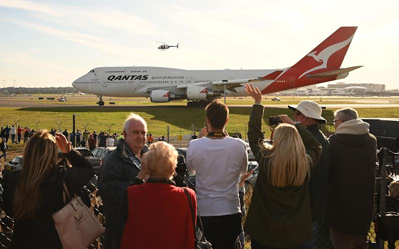 The 747 was with Qantas for nearly 50 years - AFP