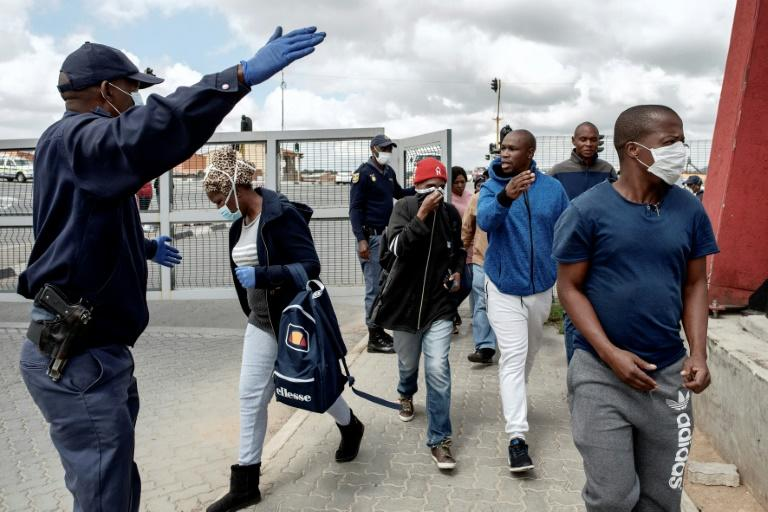 South Africa has imposed a nationwide lockdown to prevent the spread of COVID-19 (AFP Photo/Luca Sola)