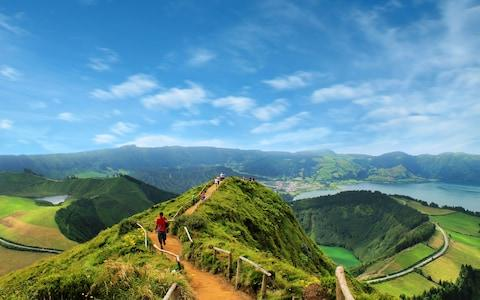 On top of the Azores