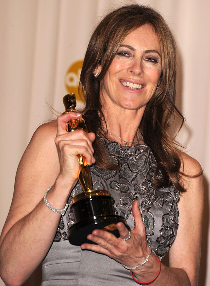 "<strong>2010</strong> – Steve Martin and Alec Baldwin hosted the 82nd Academy Awards at the Kodak Theatre on this day. Kathryn Bigelow became the first female to win the Best Director Oscar for her film ""<a href=""http://movies.yahoo.com/movie/the-hurt-locker/"">The Hurt Locker</a>"" (2008), which took home six Academy Awards that night, including Best Picture. Bigelow also had the satisfaction of beating out her ex-husband, ""Avatar"" director James Cameron."