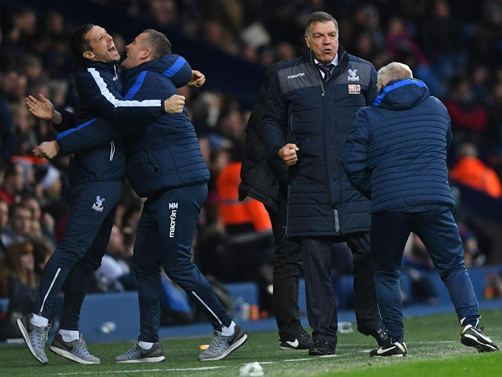 Allardyce and his coaching team have helped turn Palace back into a competitive side (Getty)