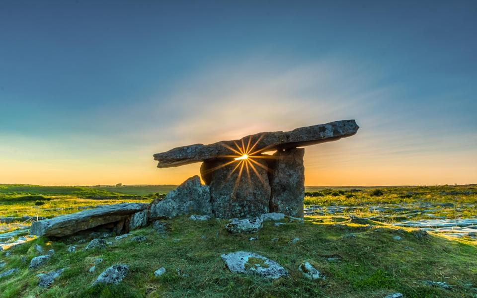 Todor Tilev was shortlisted for this shot of Poulnabrone Dolmen in County Clare, Ireland - Todor Tilev