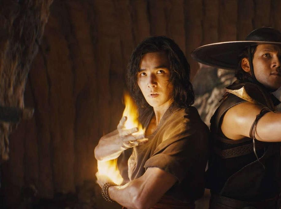 Ludi Lin in Mortal Kombat film
