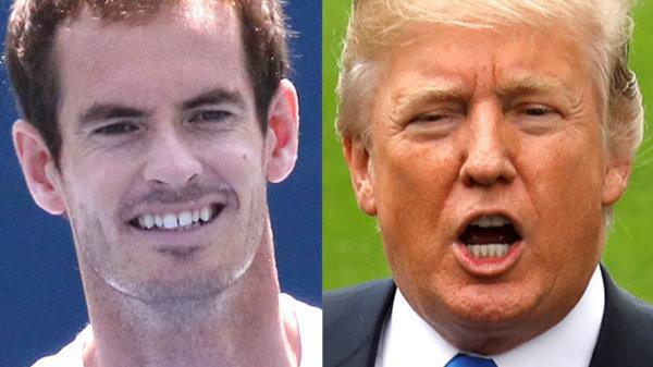 Tennis Star Andy Murray Mercilessly Mocks Donald Trump Over Time Magazine Claim