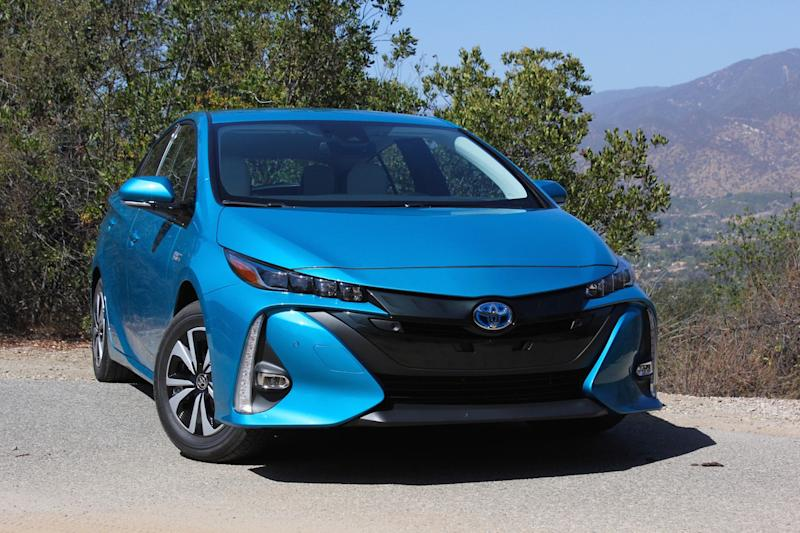 nhtsa regulation electric car noise toyota prius prime
