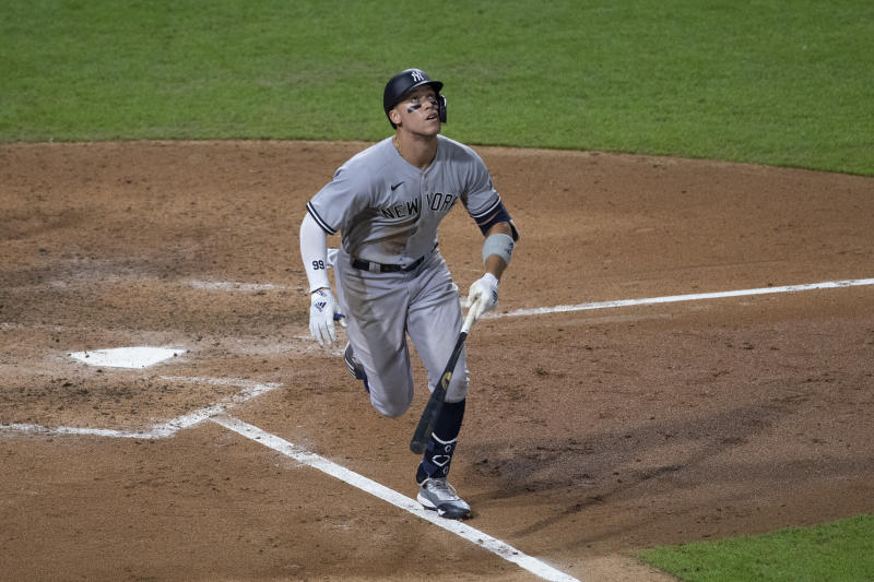 Aaron Judge is making a habit of homering in 2020 (Getty Images)