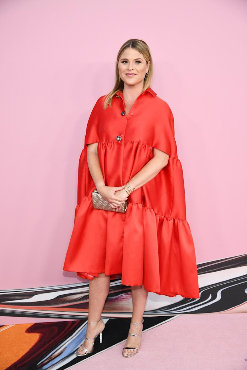 Jenna Bush attends the CFDA Fashion Awards on June 03, 2019 in New York City.