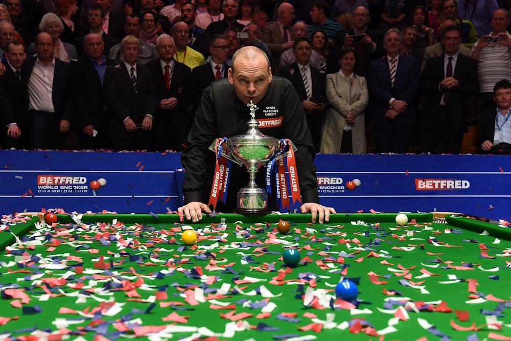 Banned: Stuart Bingham: AFP/Getty Images