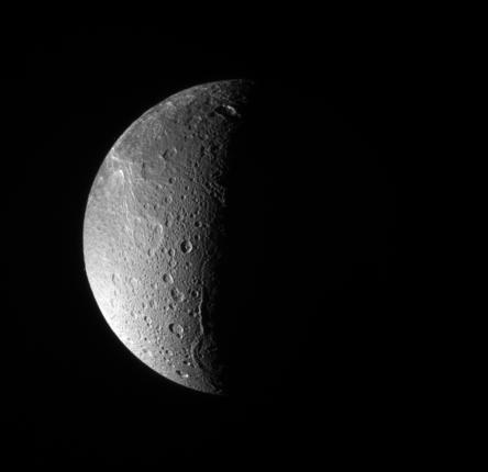 Saturn's Icy Moon Dione May Hide Watery Secret
