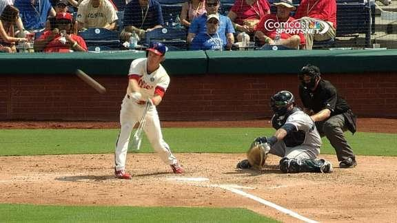 Nieves, Hamels lead Phillies past Mariners, 4-3