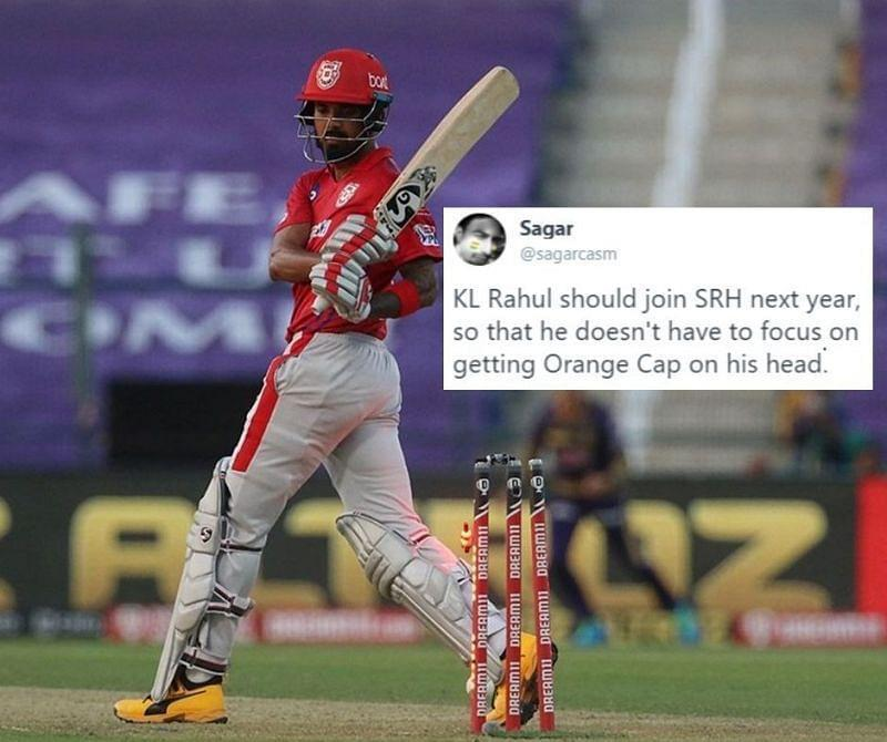 KL Rahul couldn't take KXIP over the line