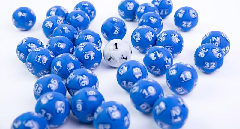 Generic file photo of lottery balls - one lotto player has won $60 million playing Powerball, after weeks of no winners
