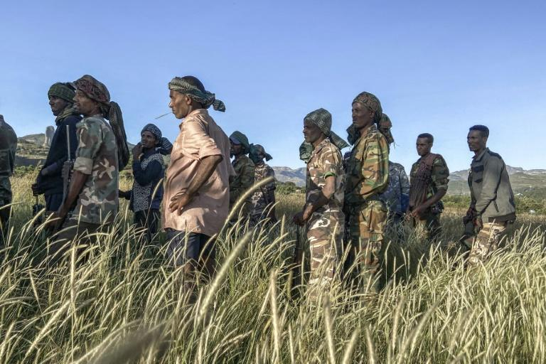 Thousands of Amhara militiamen have deployed to the Tigray border to fight alongside federal forces