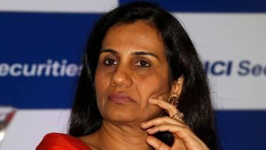 "Sources say, 'she comes to work on a ""need basis"" during her annual leave and was also present at the board meeting last week when the bank decided to dilute 2 percent more in ICICI Prudential Life'."