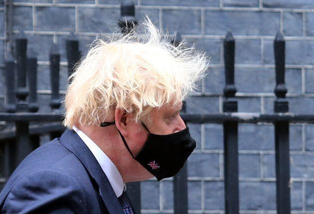 LONDON, UNITED KINGDOM - JUNE 30: British Prime Minister Boris Johnson leaves 10 Downing Street for his weekly Prime Ministerâs Question appearence in House of Commons in London, England on June 30 2021. (Photo by Tayfun Salci/Anadolu Agency via Getty Images) (Photo: Anadolu Agency via Getty Images)