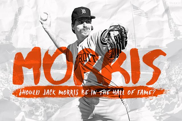Jack Morris gets another shot at the Hall of Fame on the Modern Era ballot. (Amber Matsumoto/Yahoo Sports)