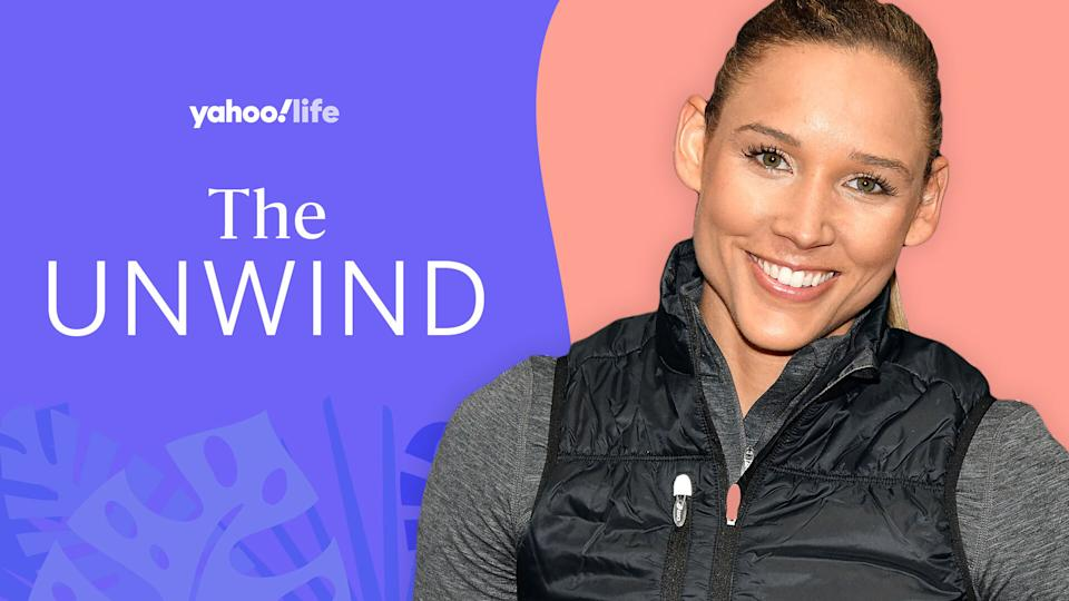 Lolo Jones on her new book, dealing with setbacks and the power of Adam Sandler films. (Photo: Getty Images; designed by Quinn Lemmers)