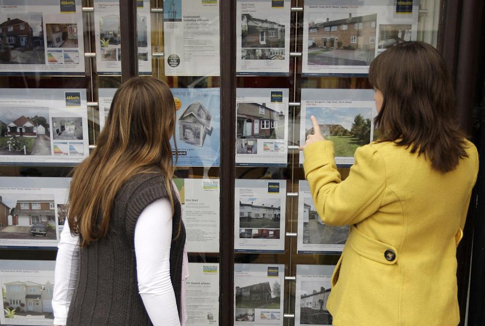 Almost £20,000 has been added to the value of the average home since April 2020, according to latest figures. Photo: Shaun Curry/AFP via Getty