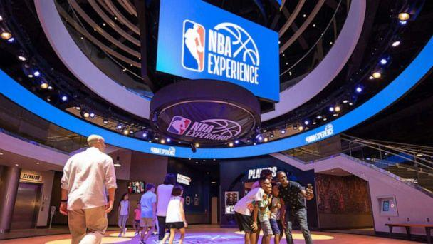 PHOTO: The NBA Experience at Disney Springs is an immersive experience for basketball fans of all ages. (Steven Diaz/Disney)