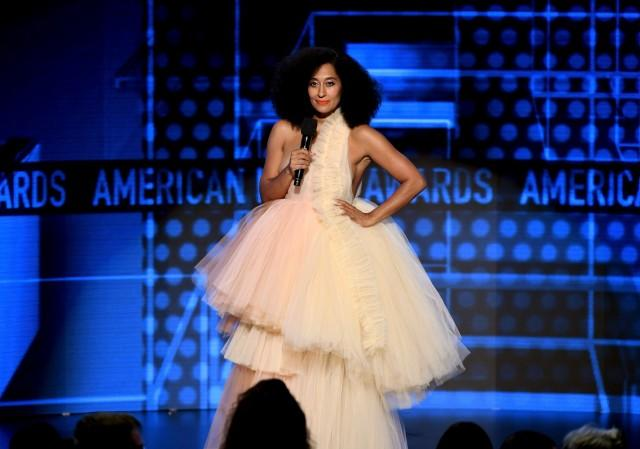 Tracee Ellis Ross tulle dress AMAs