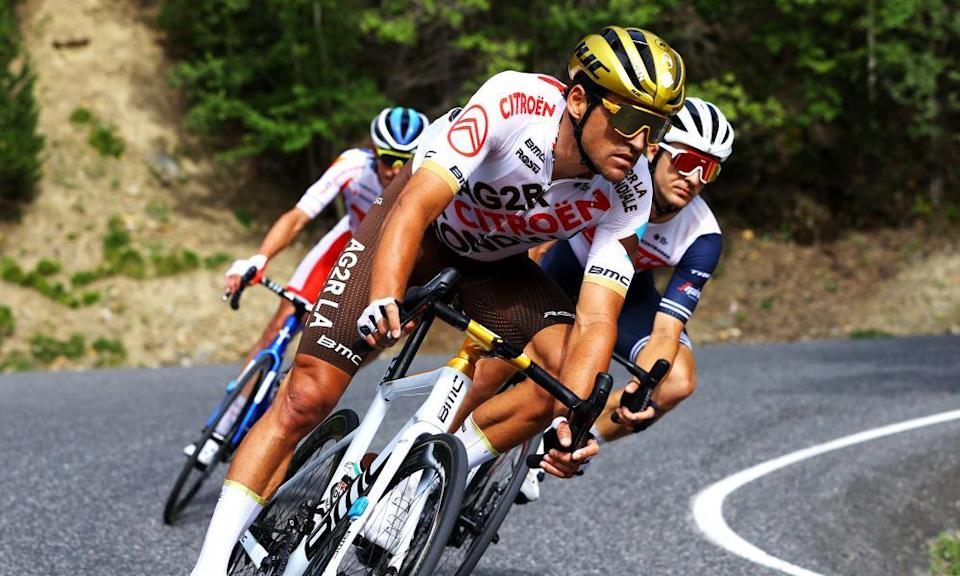 Greg Van Avermaet during stage 15 of this year's Tour de France.