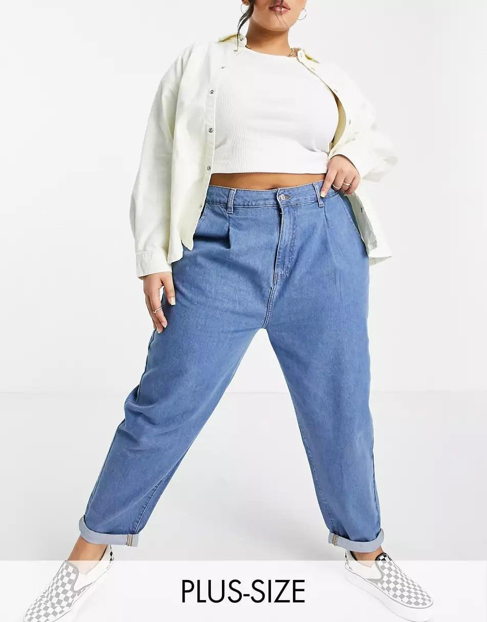 <p><span>Urban Bliss Loose Fit Jeans in Mid Wash</span> ($51)</p>