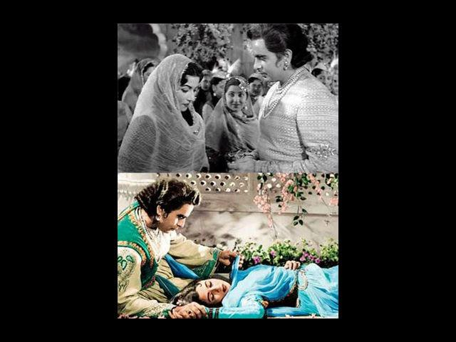 <b>Dilip Kumar and Madhubala</b><br>The embodiment of seduction- Madhubala, had an indeed serious relationship with the legendary actor Dilip Kumar. Unlike the other stars of their time, the duo did not shy away from media and never attempted to hide their relationship. It was the premier of their movie Insaniyat, where the press noticed them publicly walking with interlocked hands, thus leaving no scope for any questions. Their relationship was an open secret, but then why did not they get married? A question that still haunts many of their fans!