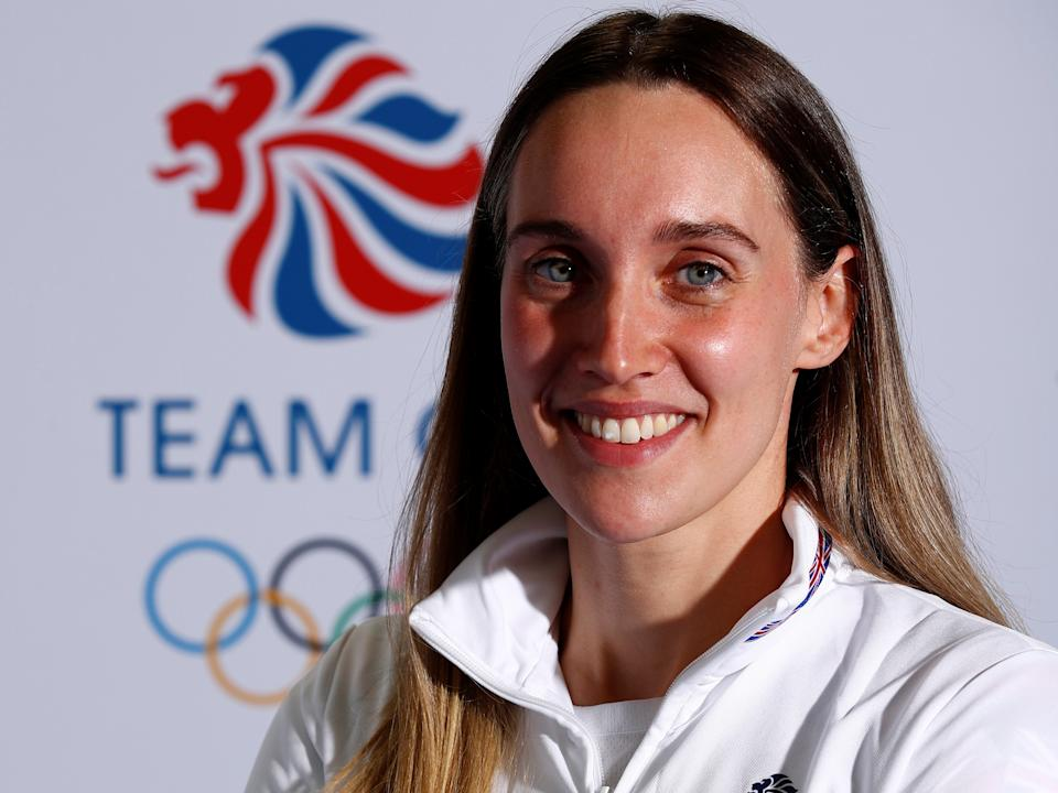 Alys Thomas, 30, was five when Kingston Royals discovered she had a talent for butterfly (Picture: Reuters)
